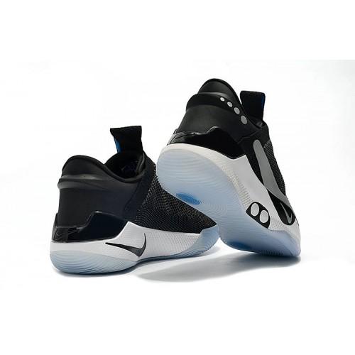 Men's 2019 Nike Adapt BB Grey Black White