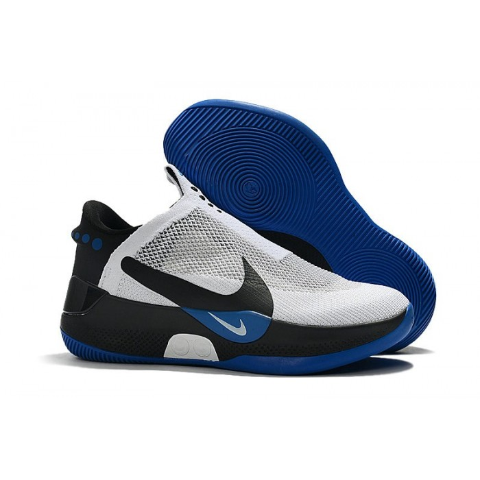Men's Nike Adapt BB White Royal Blue Black