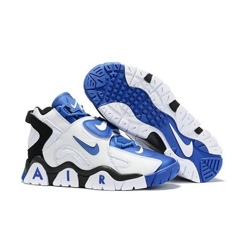 Men's Nike Air Barrage Mid Blue Black White
