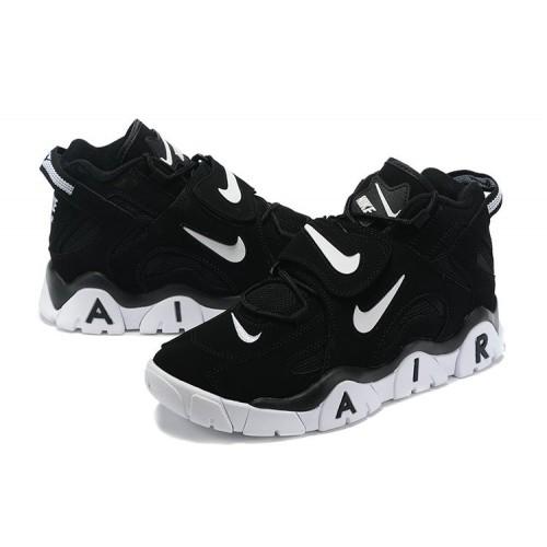 Men's Nike Air Barrage Mid QS Black White