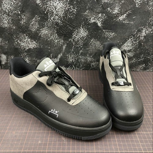 Women's 2019 A COLD WALL x Nike Air Force 1 Low Black BQ6924-001