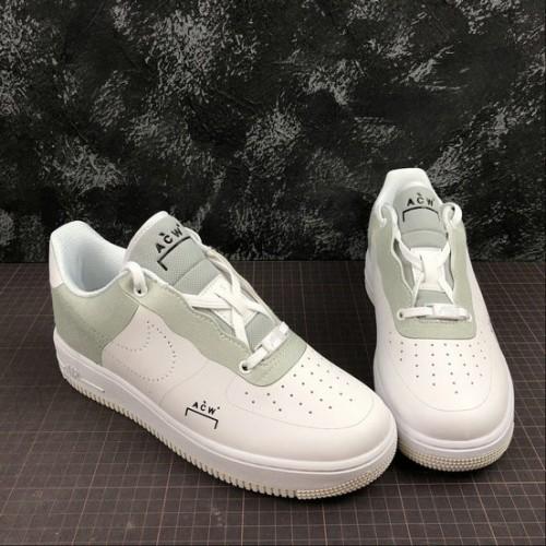 Women's 2019 A COLD WALL x Nike Air Force 1 Low White BQ6924-100
