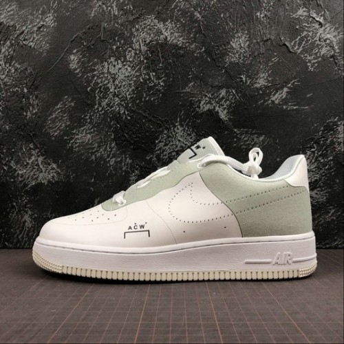 Women's 2019 A COLD WALL x Nike Air Force 1 Low White BQ6924-100
