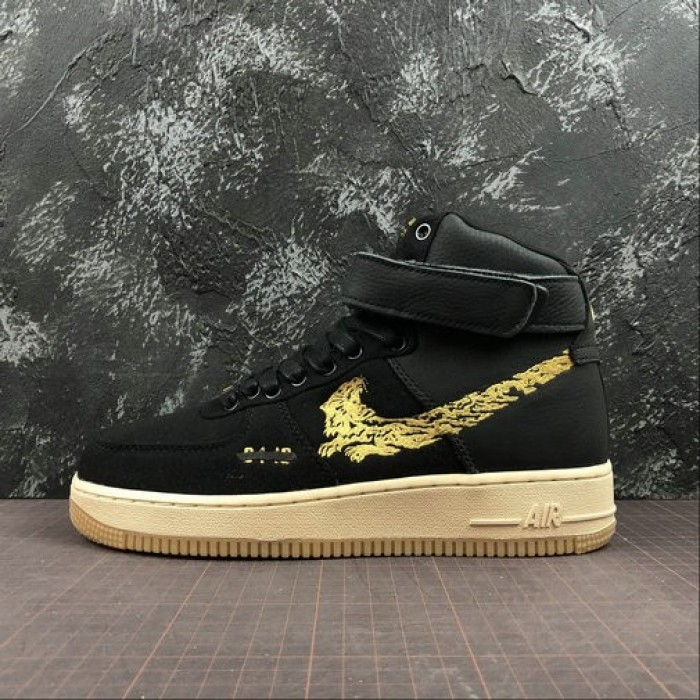Women's 2019 Maharishi x Nike Air Force 1 High Premium Multiple Multi Color