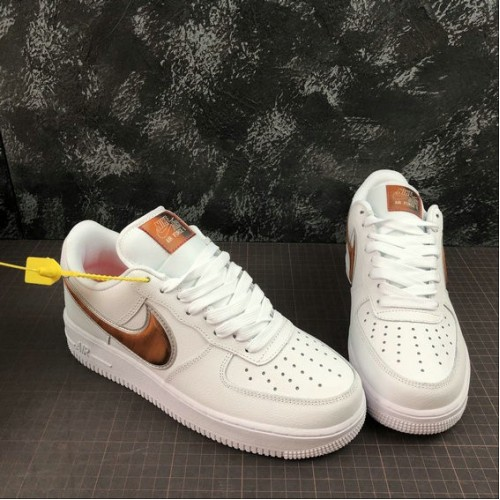 Women's 2019 Nike Air Force 1 07 LV8 3 White Court Purple Infrared 23