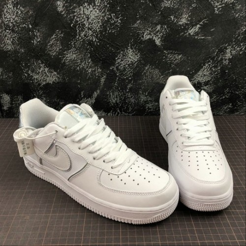 Women's 2019 Nike Air Force 1 07 LV8 4 White AT6147-100