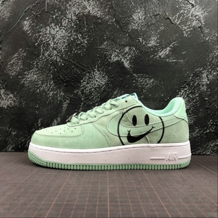 Women's 2019 Nike Air Force 1 07 LV8 ND Have A Nike Day Green White