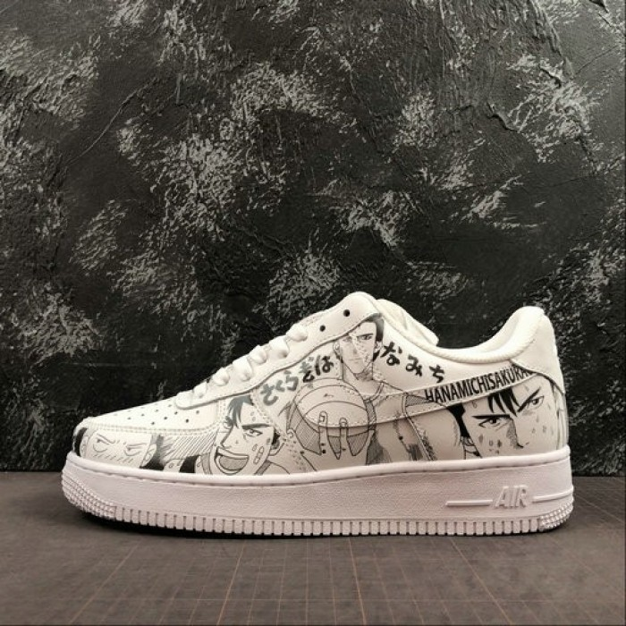 Women's 2019 Nike Air Force 1 07 Low Unisex Casual Shoes White