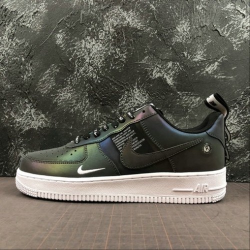 Women's 2019 Nike Air Force 1 07 PRM Just do it Chameleon Cameleon
