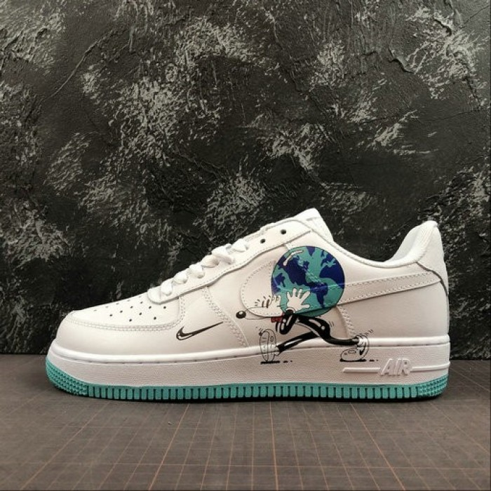 Women's 2019 Nike Air Force 1 07 Travis Scott White 315112-111