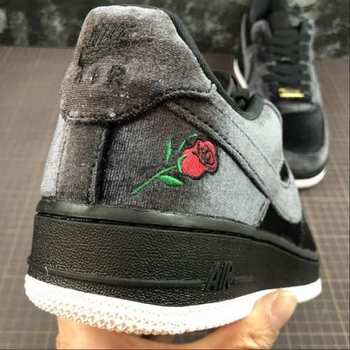 Women's 2019 Nike Air Force 1 Black Rose AH8462-003