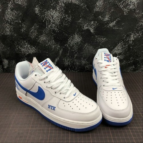 Women's 2019 Nike Air Force 1 Low 07 TXT New York Knicks