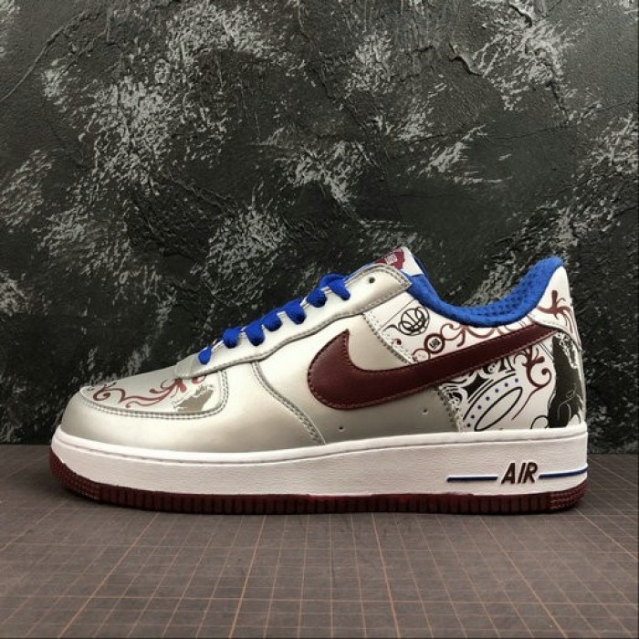 Women's 2019 Nike Air Force 1 Low Collection Royale LeBron