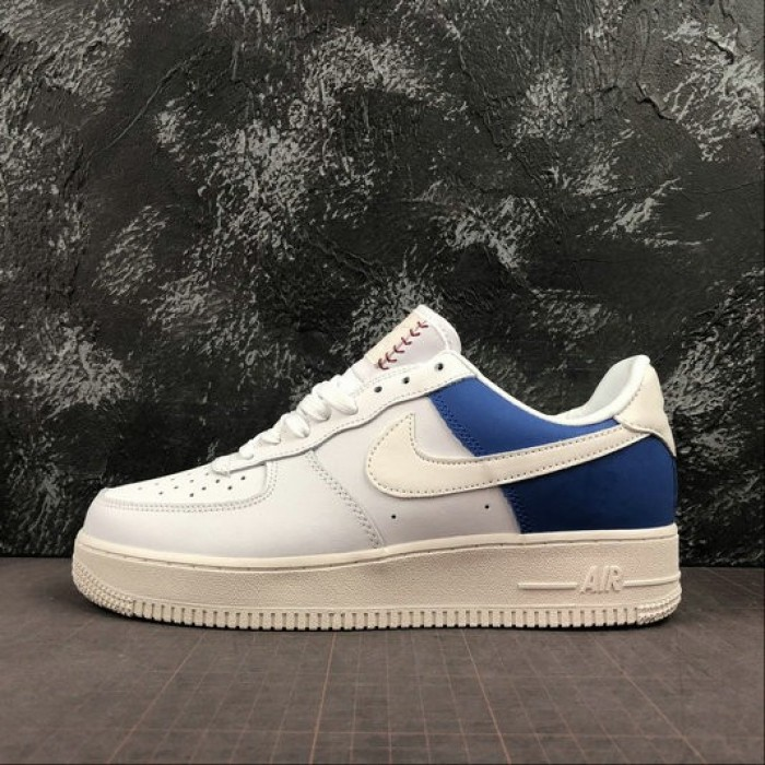 Women's 2019 Nike Air Force 1 Low Game Royal Football Grey