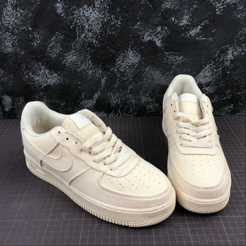 Women's 2019 Nike Air Force 1 Low Muslin-Desert Ore CJ0691-100
