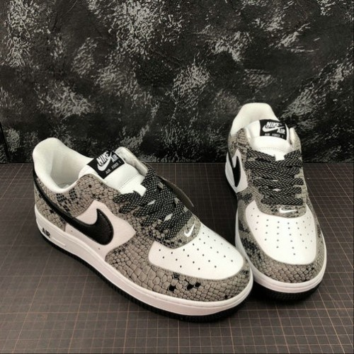 Women's 2019 Nike Air Force 1 Low RETRO True White Black