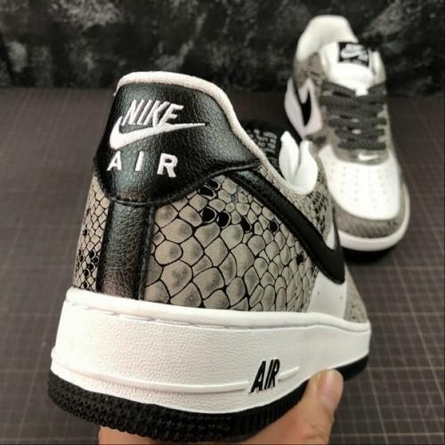 Women's 2019 Nike Air Force 1 Low RETRO True White Black