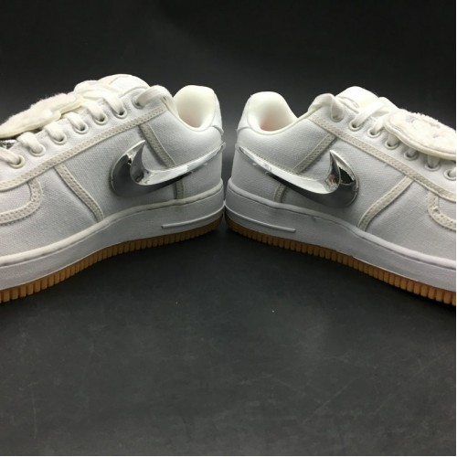 Women's 2019 Nike Air Force 1 Low Travis Scott AQ4211-100
