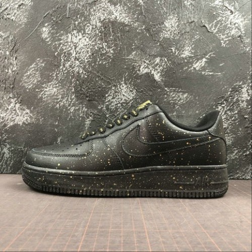 Women's 2019 Nike Air Force 1 Only Once CJ7786-007 Black
