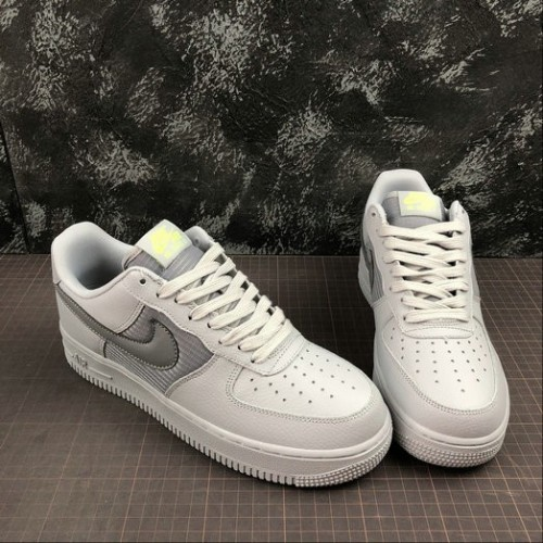Women's 2019 Nike Air Force 1 UPSTEP Dark Grey Gris AO8626-002