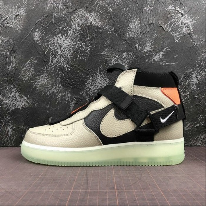 Women's 2019 Nike Air Force 1 Utility Mid Frosted Spruce green black