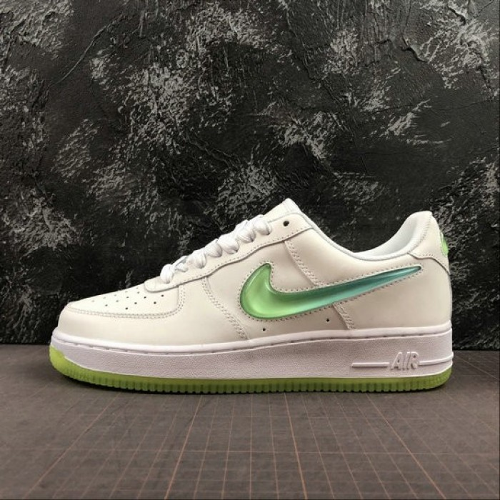 Women's 2019 Nike Air Force 1 White Yellow AT4143-100