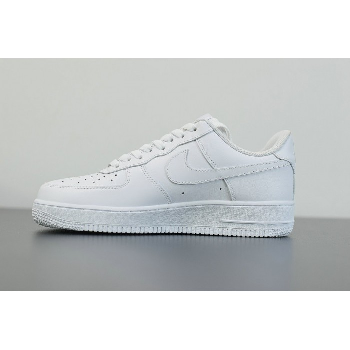 Men's 2019 Nike Air Force 1 Low 07 All white 315122-111