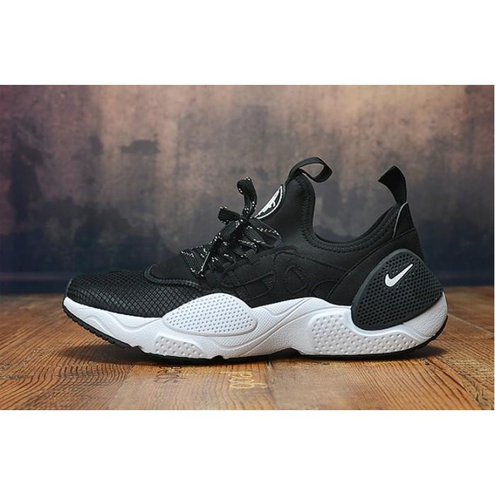 Men's 2019 Nike Air Huarache 8 Edge TXT OG Black White