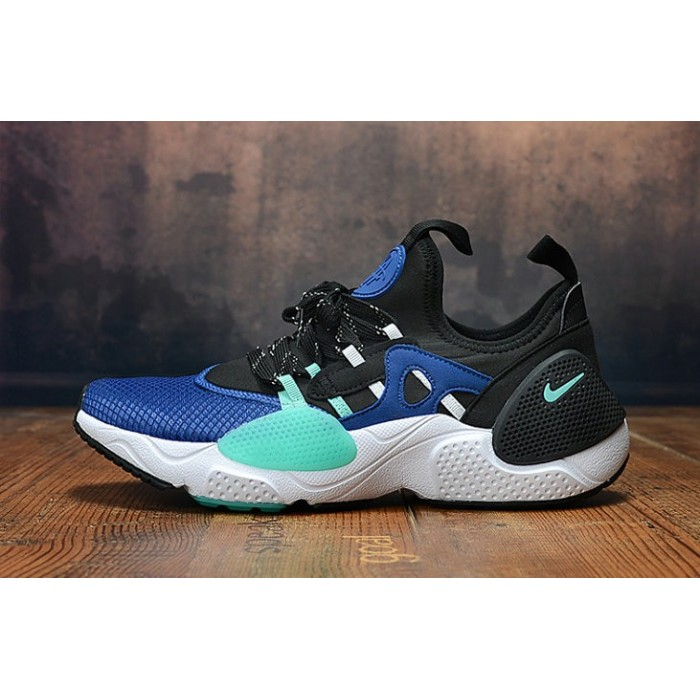 Men's 2019 Nike Air Huarache 8 Edge TXT OG Jade Blue White