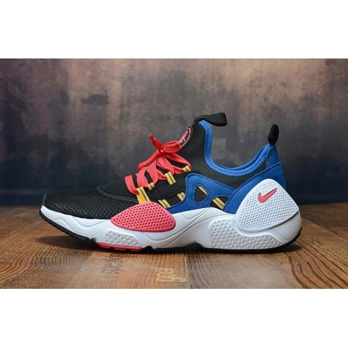 Men's 2019 Nike Air Huarache 8 Edge TXT OG Pink Black Yellow Blue White