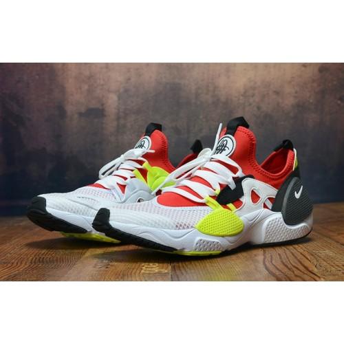 Men's 2019 Nike Air Huarache 8 Edge TXT OG Red White Black Yellow