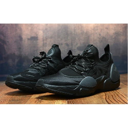 Men's 2019 Nike Air Huarache 8 Edge TXT OG Triple Black