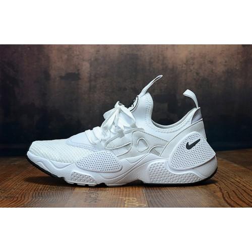Men's 2019 Nike Air Huarache 8 Edge TXT OG Triple White