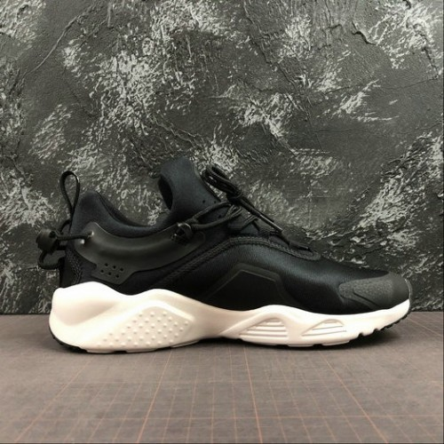 Men's 2019 Nike Air Huarache City Move Black White AO3172-001