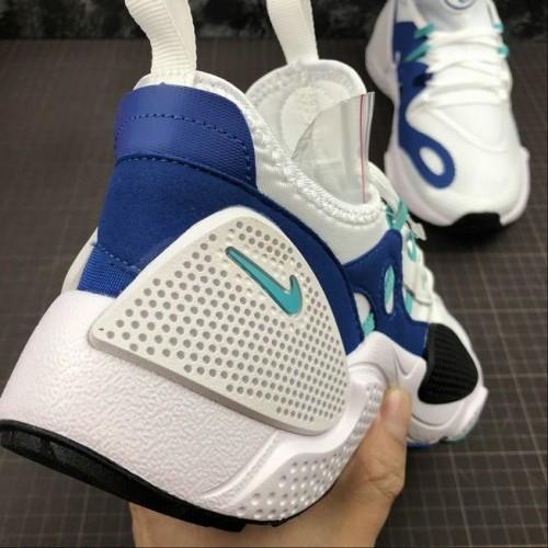 Men's 2019 Nike Huarache EDGE TXT White Hyper Jade-Game Royal-Black