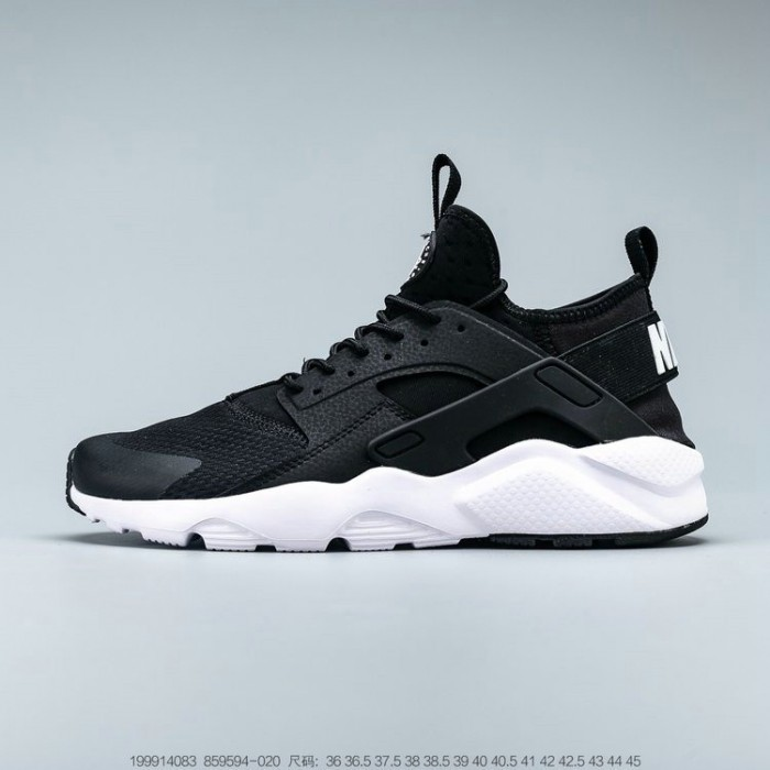 Men's 2019 Nike Air Huarache Run Ultra Black White 859594-020