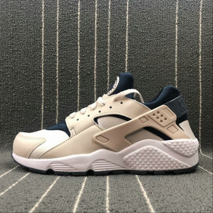 Men's Nike Air Huarache Run LT Orewood Brn Armory Navy