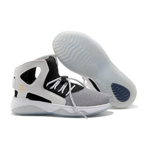 Men's Nike Air Flight Huarache Black White Grey