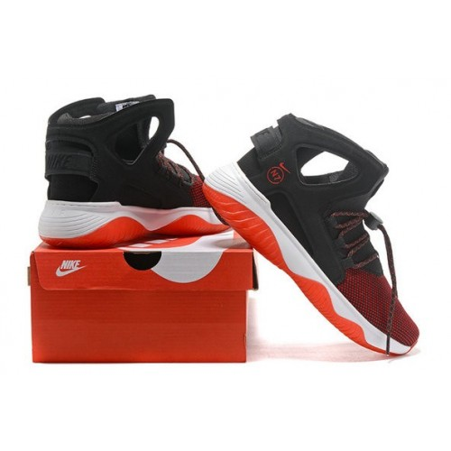 Men's Nike Air Flight Huarache Red Black White