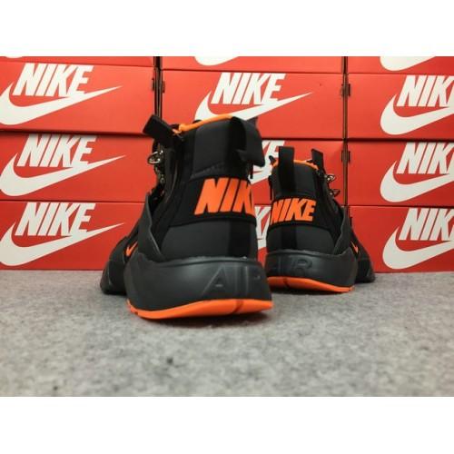 Men's Nike Air Huarache Nike x ACRONYM 856787-107 Black Yellow