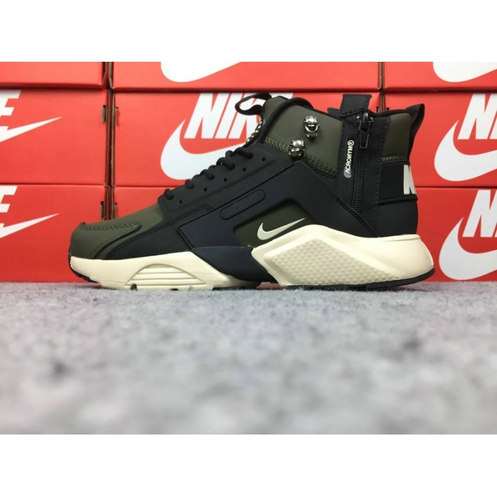 Men's Nike Air Huarache Nike x ACRONYM Army Green Black