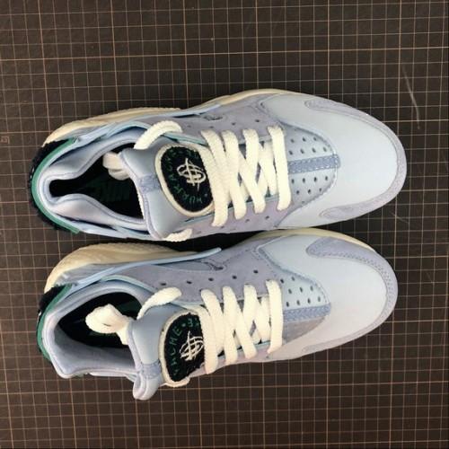 Men's Nike Air Huarache Run PRM 704830-403 Royal Tint Sail Blue