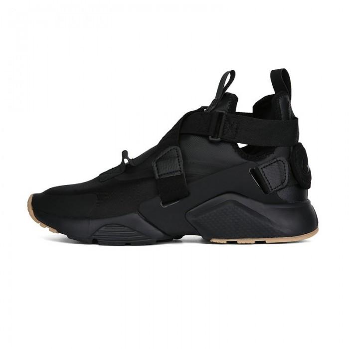 Men's Nike Air Huarache Run iD Total Black