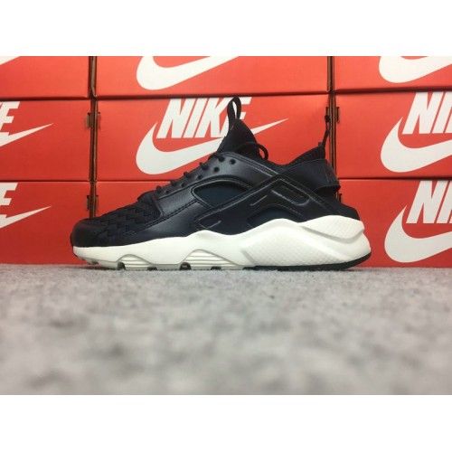 Men's Nike Air Huarache Ultra 762743-882 Black White