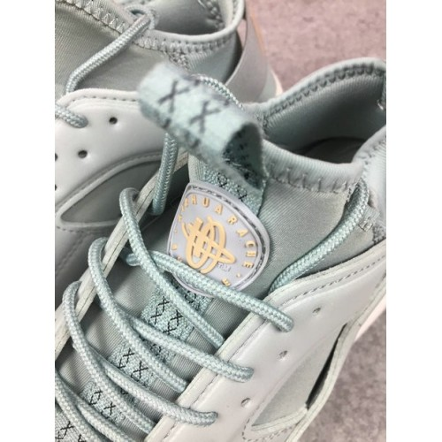 Men's Nike Air Huarache Ultra 762743-883 Grey White