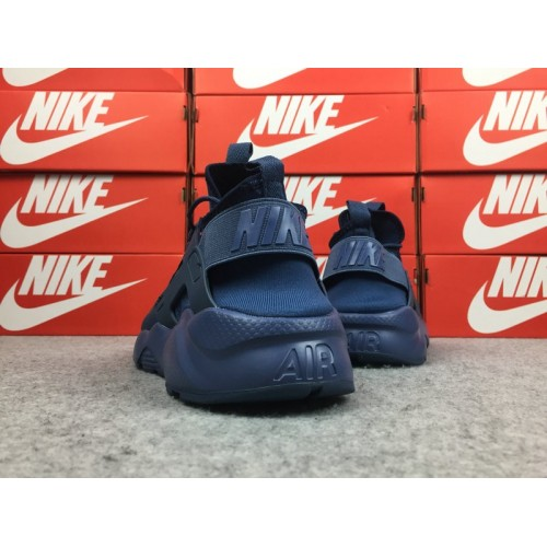 Men's Nike Air Huarache Ultra ID 829669-332 Navy Blue