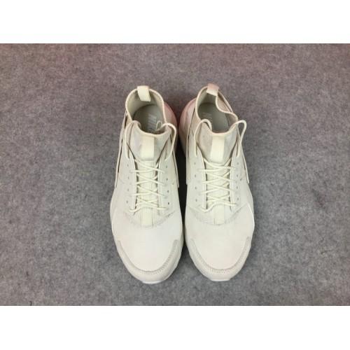 Men's Nike Air Huarache Ultra ID 829669-665 Beige White