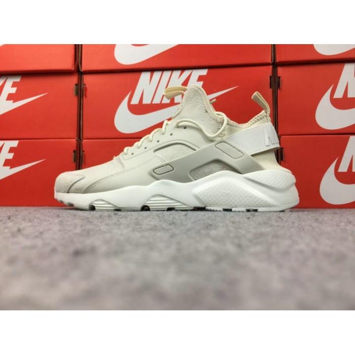 Men's Nike Air Huarache Ultra ID 829669-665 Cream Grey