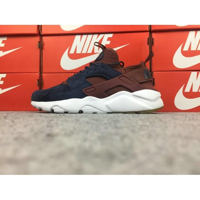 Men's Nike Air Huarache Ultra ID 829669-668 Blue Brown