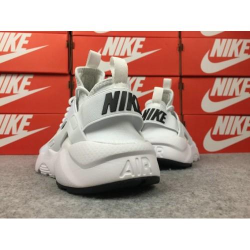 Men's Nike Air Huarache Ultra Run ID 753496-371 White Black